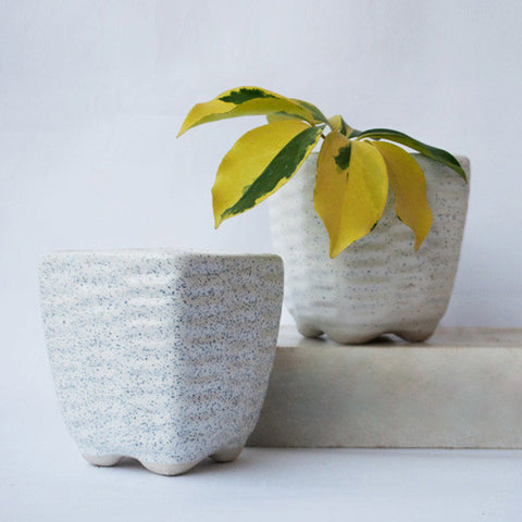 Cube Textured Planter