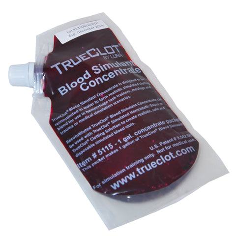 TrueClot® Blood Simulant Concentrate 1-Gallon (item #s vary)