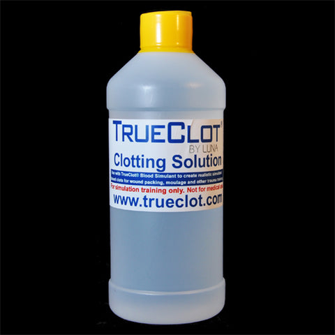 TrueClot® Clotting Solution 500ml (item # 5132)
