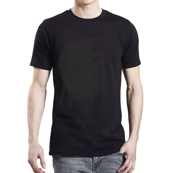 Mens Black Crow T-Shirt