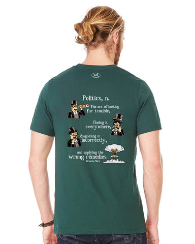 products/Groucho-Marx-Politics-Tee-Shirt-Mens-Forest-Green-Back.jpg