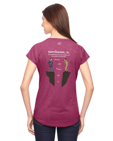 products/Sarchasm-Tee-Shirt-Womens-Raspberry-Back..jpg