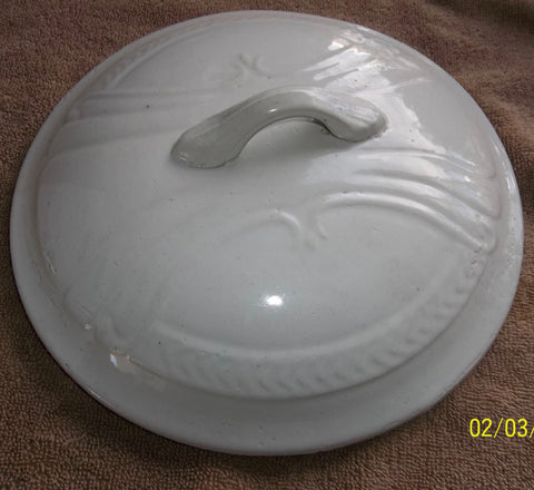 Beautiful Ironstone Tureen Lid