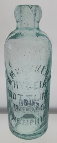 R.M. Becker's Hygeia Bottling Works Bottle from Memphis, Tennessee
