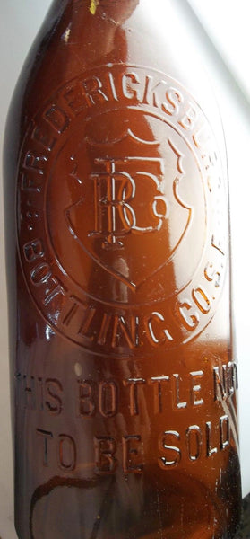 Fredericksburg Ale Bottle from San Francisco