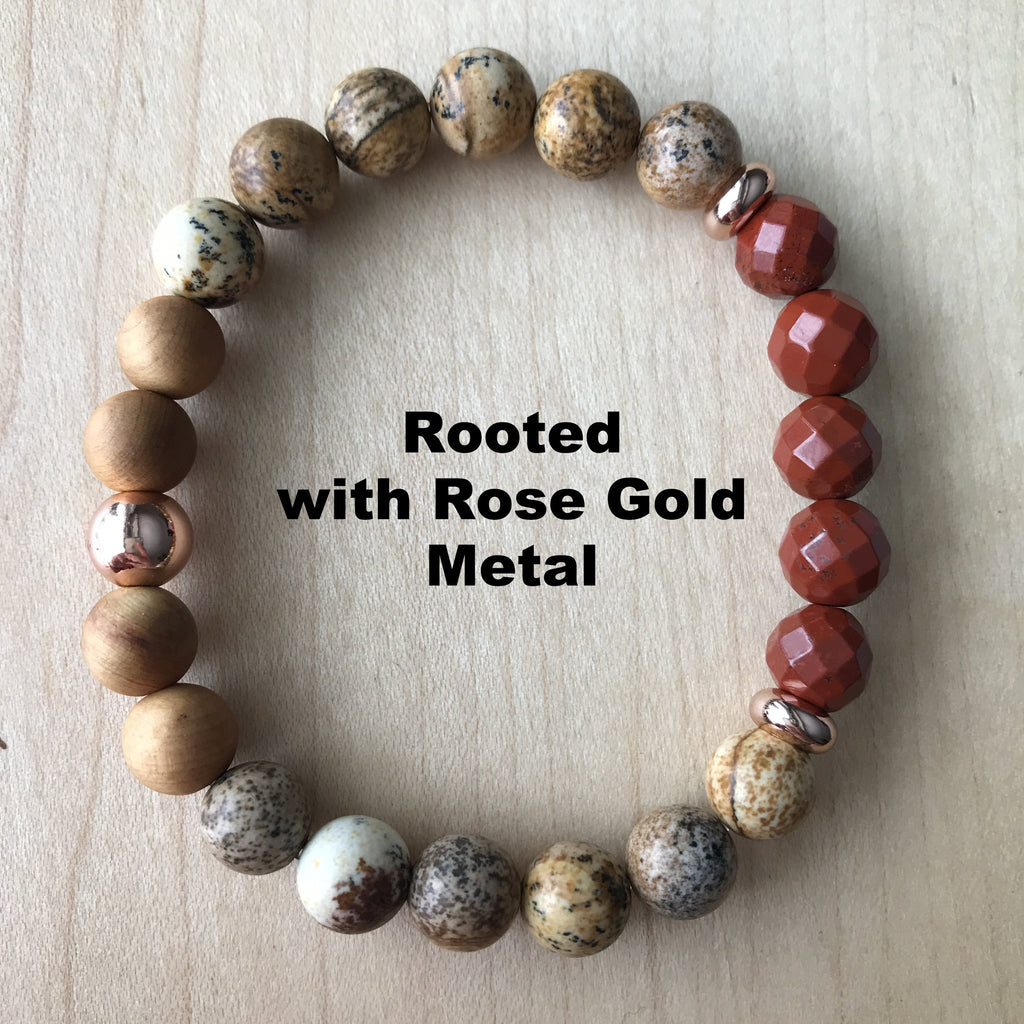 Rooted Diffuser Bracelet {in rose gold}