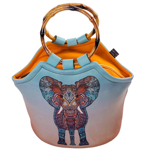 Neoprene Lunch Purse by Art of Lunch - Elephant