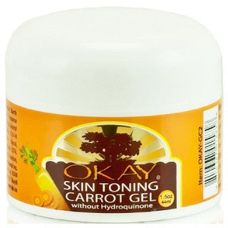 OKAY CARROT SKIN TONING GEL 1.5OZ /44ML