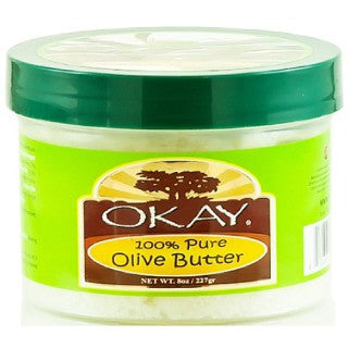 OKAY 100% OLIVE BUTTER HAIR & SKIN 8OZ / 227GR