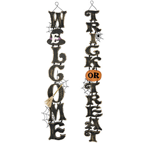 Halloween Signs perfect for wreath Alternative - Knot and Nest Designs