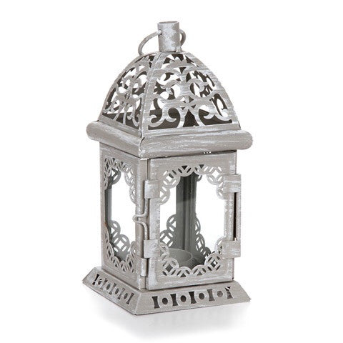 Antique metal Lantern - Knot and Nest Designs