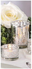 6 pack Mercury Tealights - Knot and Nest Designs