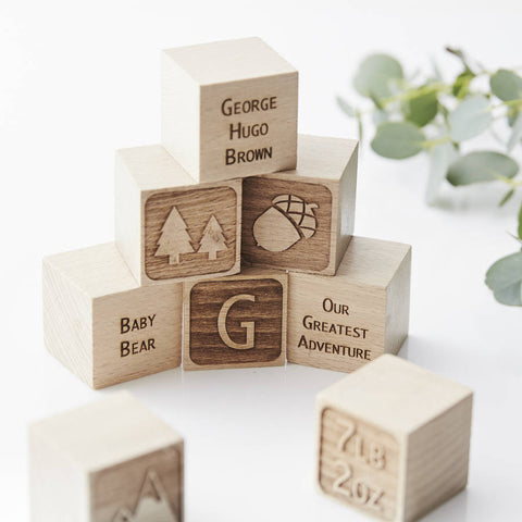 Adventure Personalised Keepsake Building Block