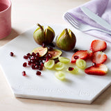 Hexagon Personalised Marble Serving Board