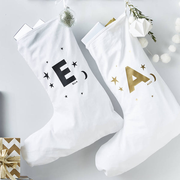 Little Star Personalised Christmas Stocking