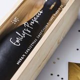 Personalised Prosecco Bottle Box