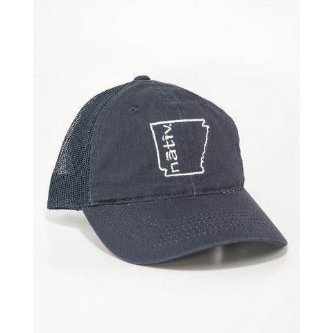 Nativ Arkansas Trucker Hat Navy/Navy