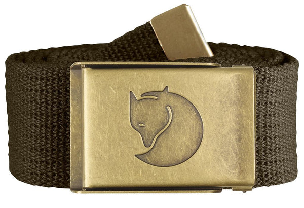 Fjallraven Canvas Brass Belt