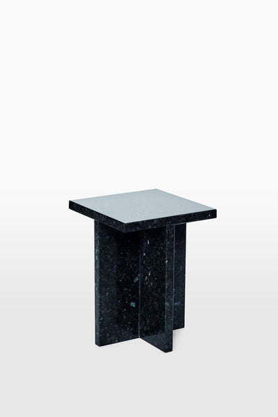 Fox <br> Stool <br> Granite <br> Black Glitter