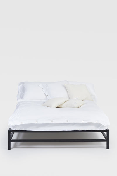 Mother <br> Duvet cover <br> Poplin <br> White