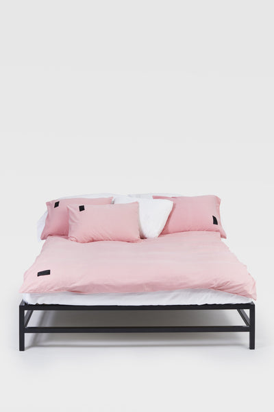 Nude <br> Duvet cover <br> Jersey <br> Washed pink