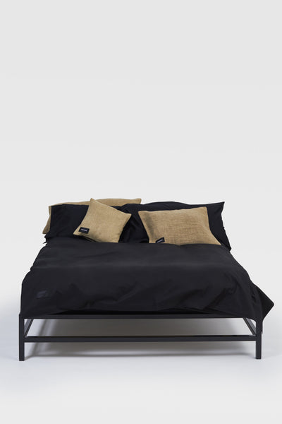 One <br> Duvet cover <br> Poplin <br> Black