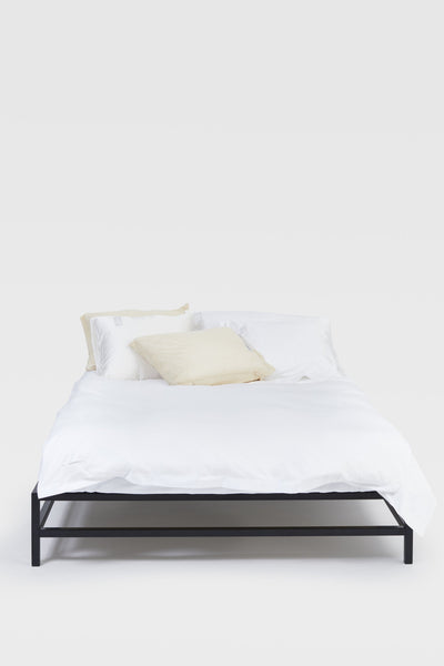 One <br> Duvet cover <br> Poplin <br> White