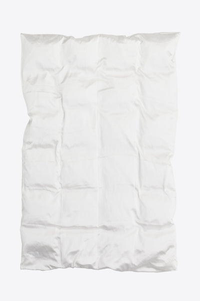 Rose <br> Duvet cover <br> Silk <br> White