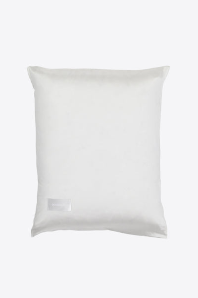 Rose <br> Pillow case <br> Silk<br> White