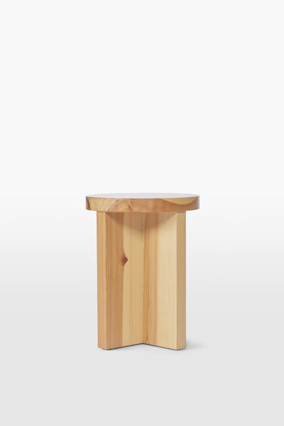 Cat <br> Stool <br> Pine Wood <br> Nature