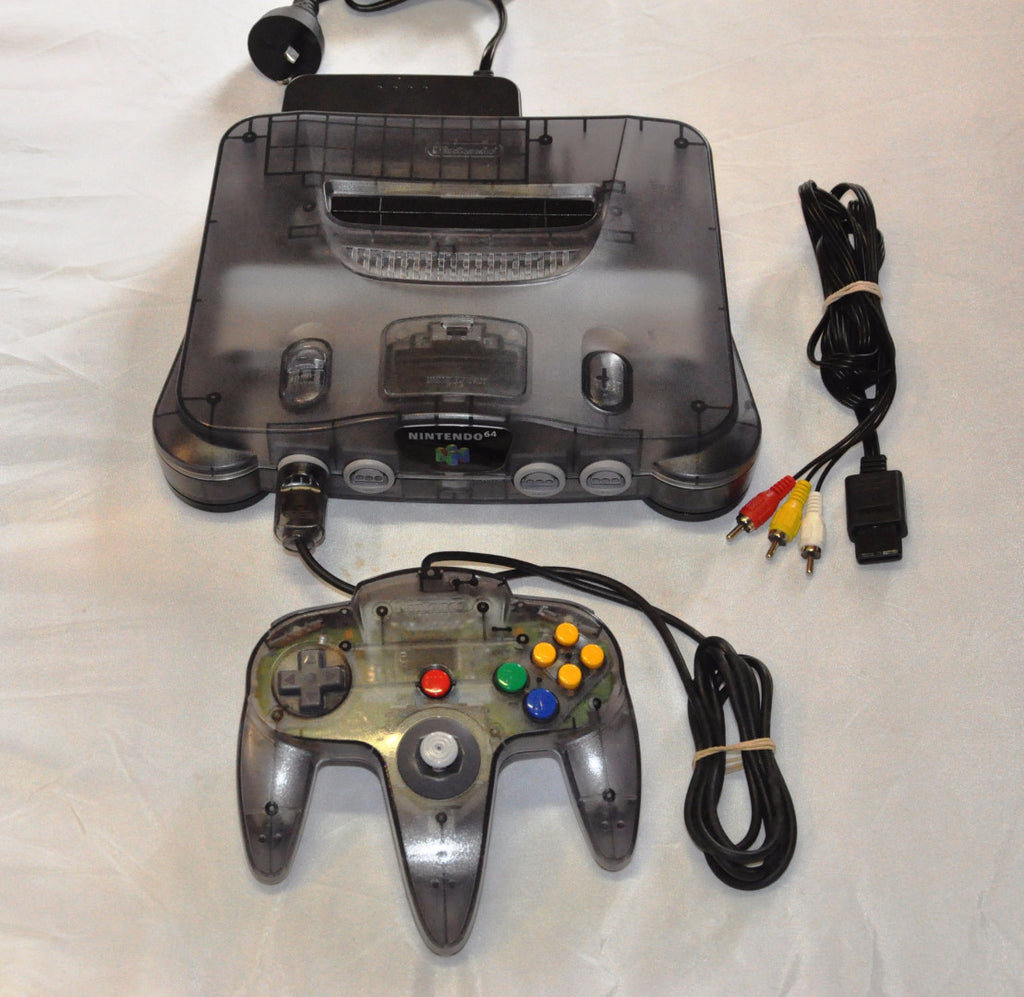Console | Nintendo 64 | Clear Smoke Grey Limited Edition N64 Console