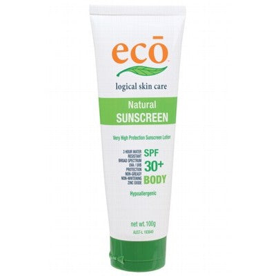 All Natural Sunscreen by ECO-BODY 30+