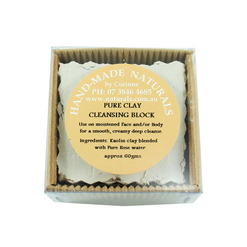 Clay Cleansing Block from Handmade Naturals