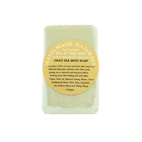 Dead Sea Mud Soap from Handmade Naturals