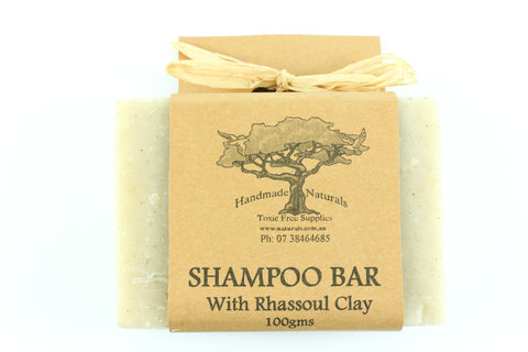 Shampoo Bar with Rhassoul Clay from Handmade Naturals