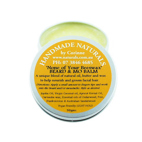 'None of Your Beeswax' Beard & Mo Balm by Handmade Naturals