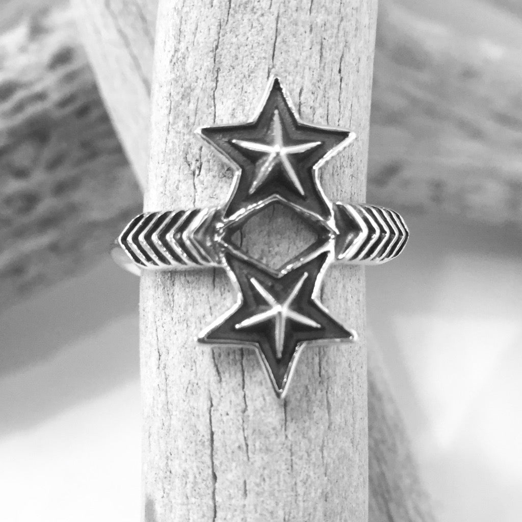 Double Arrow Double Star<br>By Cody Sanderson<br>Size: 6