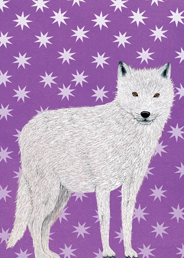 Arctic Wolf - Winter Holiday - 17-02