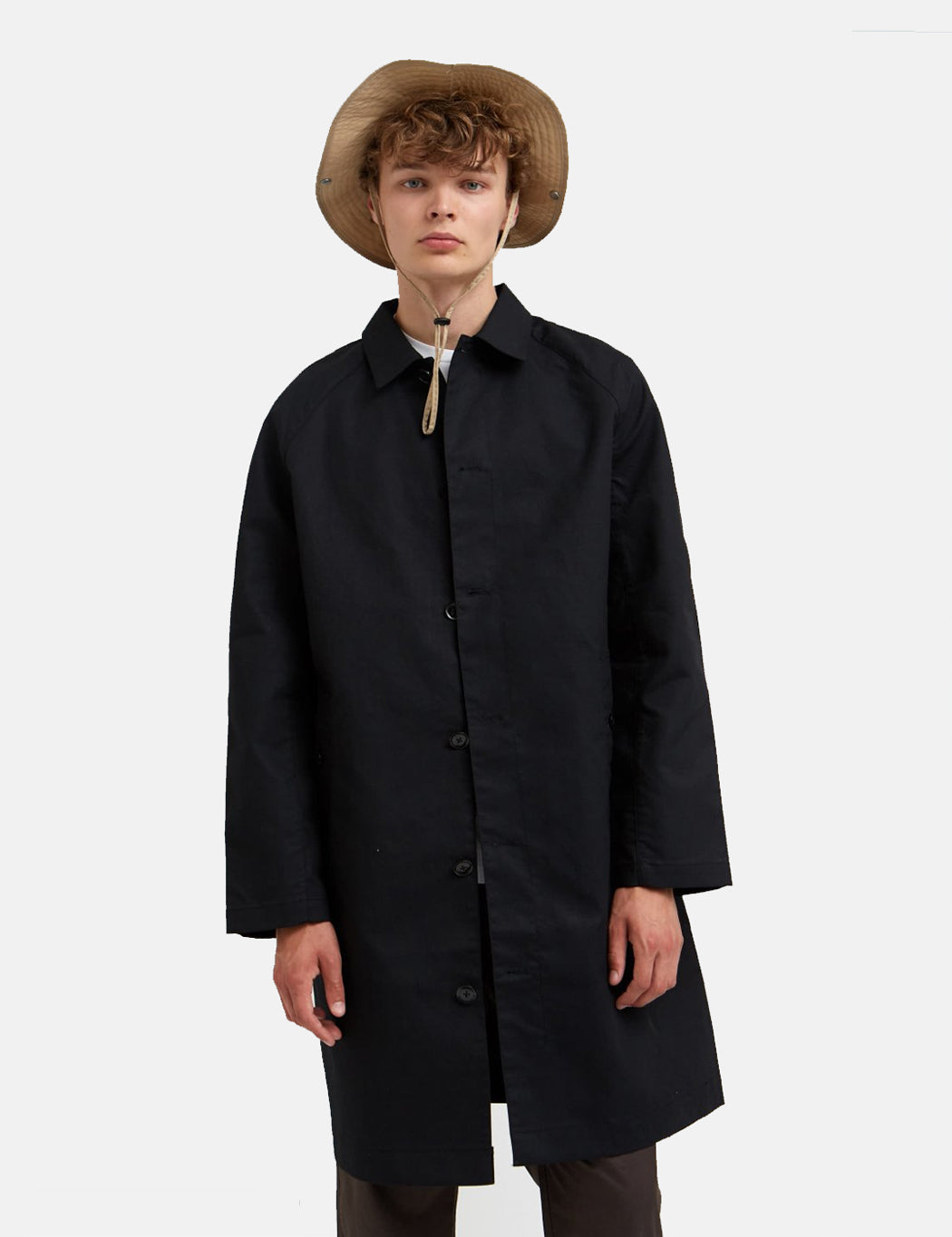 Wood Wood Roald Coat - Black