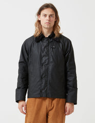 Barbour x Engineered Garments Graham Wax Jacket - Black - Article
