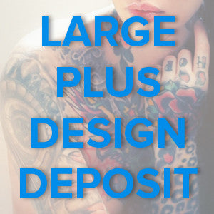 Large Plus Tattoo Design Final Payment