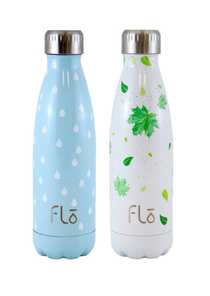 1x Flo Bottle (Charity : Water) + 1x Flo Bottle (Trees for the Future)