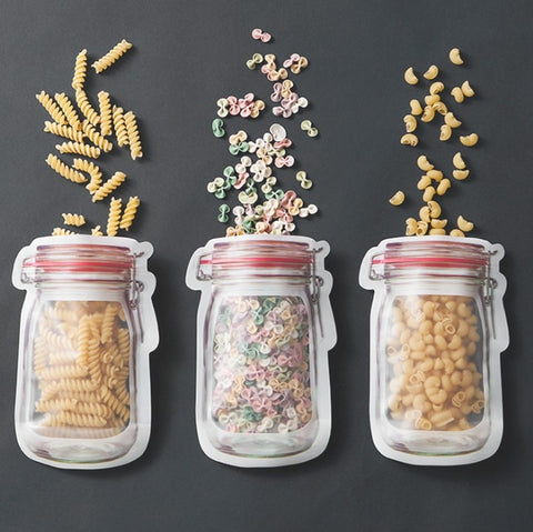 Jar Shaped Pouch Sets