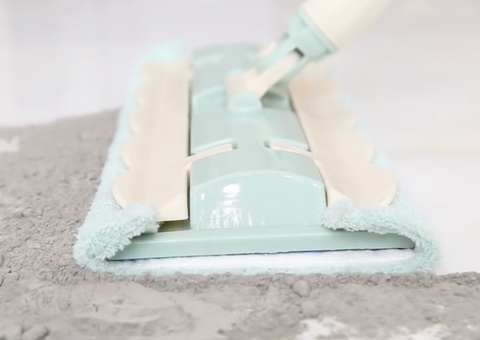 2 in 1 Sweep Mop - Comes with 2 Bonus Replaceable Mop Cloth + FREE SHIPPING