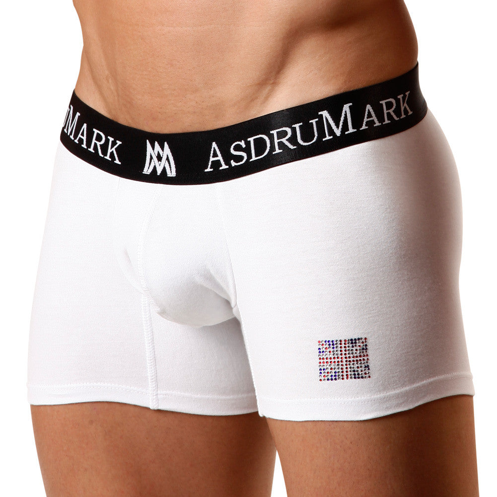 AsdruMark Boxer UK Stones White Men's Underwear