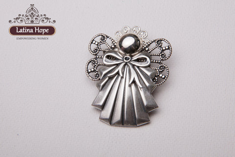 Bronze-Toned Angel Pin- FREE SHIPPING! (#19)