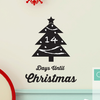 Christmas Countdown Chalkboard Tree - Dana Decals