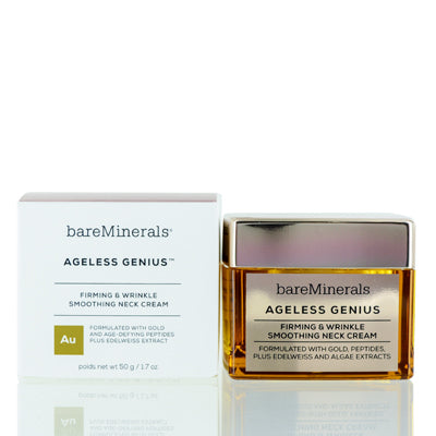 BAREMINERALS AGELESS GENIUS FIRMING & WRINKLE SMOOTHING NECK CREAM 1.7 OZ (50 ML)