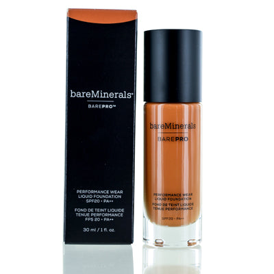 BAREMINERALS BAREPRO PERFORMANCE WEAR FOUNDATION LIQUID CAPPUCCINO 1.0 OZ