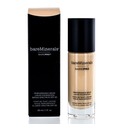 BAREMINERALS BAREPRO PERFORMANCE WEAR FOUNDATION LIQUID CASHMERE 1.0 OZ (30 ML)